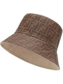 reversible bucket hat at Farfetch