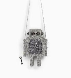 robot handbag at Zara