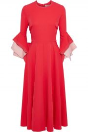 roksanda Ricciarini two-tone crepe dress at The Outnet