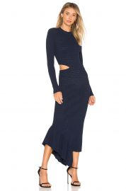 ronny kobo Charlize Pointelle Rib Dress at Revolve