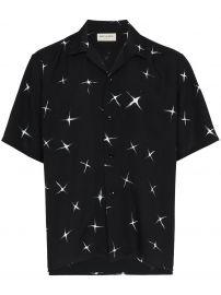 saint laurent star print shirt at Farfetch