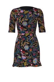 saloni Floral Celia Dress at Rent The Runway