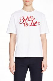 sandro Adele Born to Love Tee   Nordstrom at Nordstrom