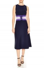 sandro Belted Knit Midi Dress at Nordstrom