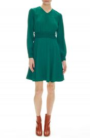 sandro Claudia Long Sleeve Dress   Nordstrom at Nordstrom