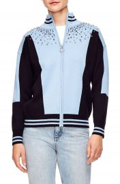 sandro Embellished Sweater Jacket   Nordstrom at Nordstrom