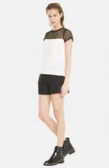 sandro Emeraude Top at Nordstrom