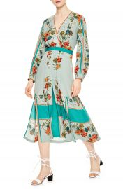 sandro Floral Faux Wrap Dress   Nordstrom at Nordstrom