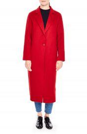 sandro Long Wool Coat   Nordstrom at Nordstrom
