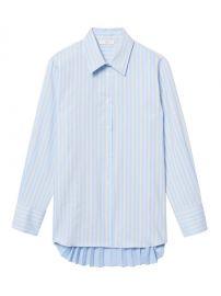 sandro Sielle Striped Button Down Shirt at Saks Fifth Avenue