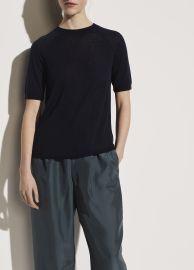 short Sleeve Raglan Pullover at Vince