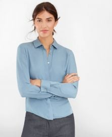 silk french cuff shirt at Brooks Brothers