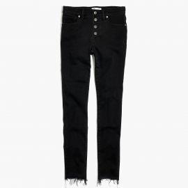 skinny jeans in berkeley black at Madewell
