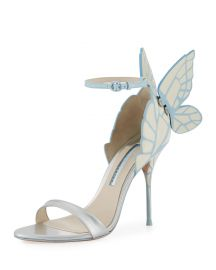 sophia webster Chiara Butterfly Wing Bridal Sandals at Neiman Marcus