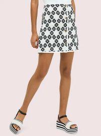 spade tweed skirt at Kate Spade