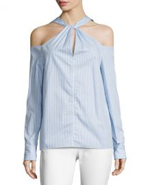 Collingwood Cold-Shoulder Long-Sleeve Top by Rag & Bone at Neiman Marcus