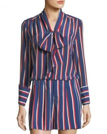 Alice and Olivia Arie Blouse at Neiman Marcus