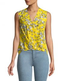 Rag & Bone Victor Floral Top at Neiman Marcus