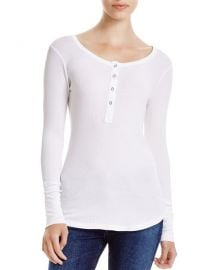 splendid thermal henley top at Bloomingdales