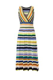 striped dress milly at Rent The Runway