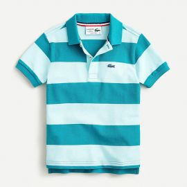 striped polo shirt Item F9558 Shop all LACOSTE at J. Crew