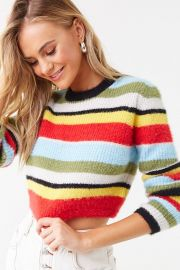 striped sweater at Forever 21