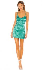 superdown Andy Mini Dress in Teal from Revolve com at Revolve