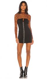 superdown Britney Corset Mini Dress in Black from Revolve com at Revolve