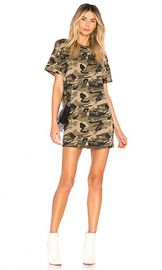 superdown Clara Camo Dress in Camo from Revolve com at Revolve