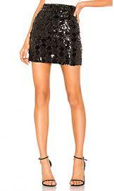superdown Daphne Sequin Mini Skirt in Black Sequin from Revolve com at Revolve