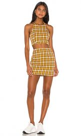 superdown Deon Skirt Set in Mustard from Revolve com at Revolve