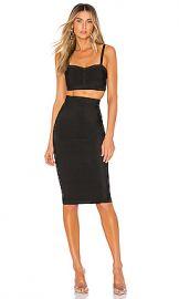 superdown Emilia Skirt Set in Black from Revolve com at Revolve