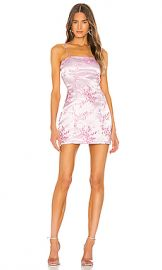 superdown Letizia Printed Mini Dress in Pink Floral from Revolve com at Revolve