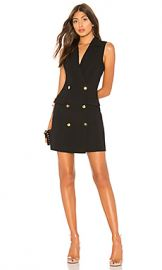 superdown Patricia Blazer Dress in Black from Revolve com at Revolve