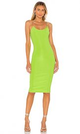 superdown Zoey Chain Strap Dress in Green from Revolve com at Revolve