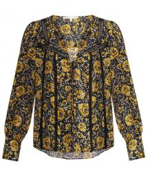 tarry blouse at Veronica Beard