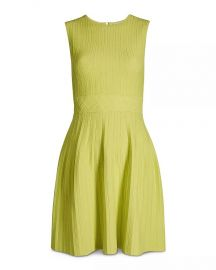 ted baker Balieey Pleated Mini Dress at Bloomingdales