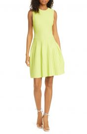 ted baker Sleeveless Knit Fit flare dress at Nordstrom
