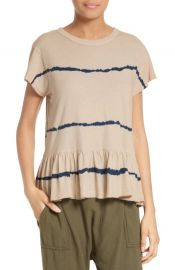 the Great ruffle tee at Nordstrom