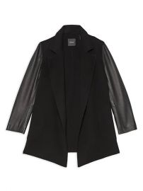 theory Clairene Open-Front Jacket at Saks Fifth Avenue