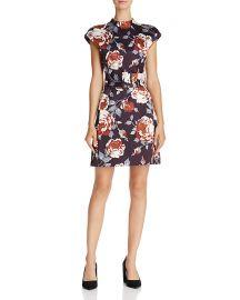 theory Victoria Mod Floral Print Dress at Bloomingdales