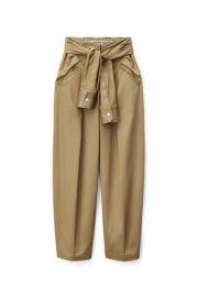 tie waist trouser at Alexander Wang