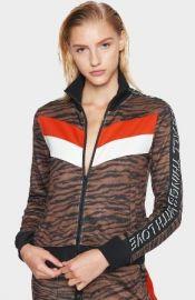 tiger jacket at Pam and Gela