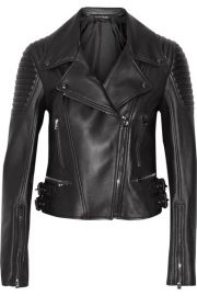 tom ford LEATHER BIKER JACKET at Net A Porter