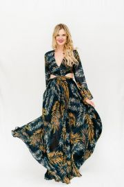 tropical cutout dress at Brandi Land