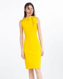 tube dress at Zara