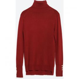 turtleneck sweater at Zara