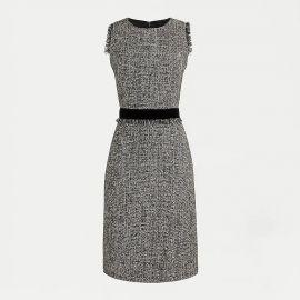 tweed dress at J. Crew