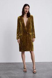 velvet frock coat at Zara