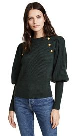 veronica beard Jude Leg of Mutton Button Sweater at Shopbop